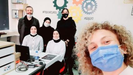 Emine Ahmet Yeni Kız Anadolu İHL'de başarı üstüne başarı