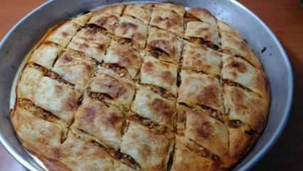 En kolay el açması kıymalı börek nasıl yapılır? Kıymalı börek yapımının püf noktaları