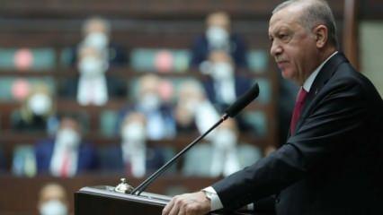 Hain senaryoyu devreye soktular! Başkan Erdoğan mesajı verdi...