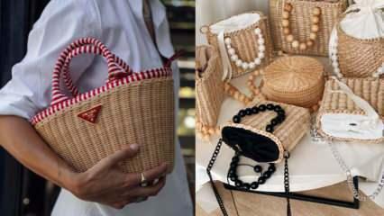 Hasır çanta nedir? 2021 En güzel hasır çanta modelleri ve fiyatları