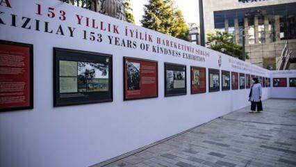 'Hilal-i Ahmer'den Kızılay'a 153 Yıllık İyilik Hareketimiz' sergisi açıldı