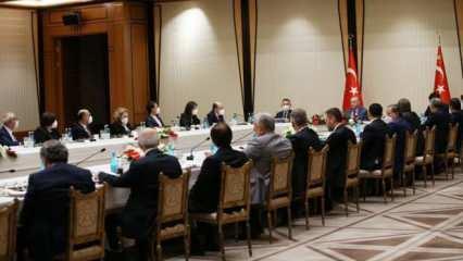Külliye'deki özel müsilaj toplantısı sona erdi