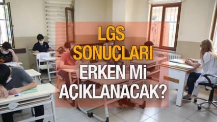 LGS sonuçları ne zaman açıklanacak? 2021 MEB LGS sınav sonuç takvimi!