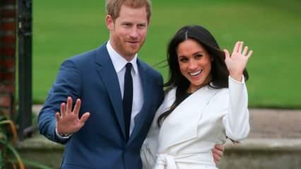 Prens Harry ile Meghan Markle çiftinden Kraliyet'e zeytin dalı