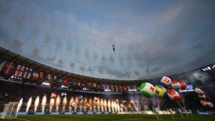 Roma'da EURO 2020'ye görkemli açılış