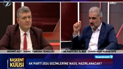 Son dakika: Osman Nuri Kabaktepe'den canlı yayında İmamoğlu'na sert mesaj: Balon patladı!