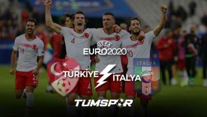 Türkiye İtalya maçı saat kaçta? EURO 2020 Türkiye İtalya maçı kadrosu ve muhtemel 11'leri!