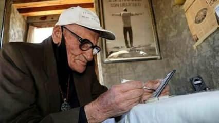 Van'da yaşayan 81 yaşındaki Mehmet Kuşman Dünyada Urartuca yazabilen tek insan!