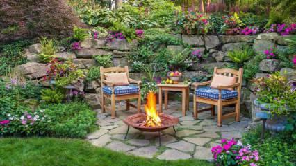 Yaz ayları için bahçe dekorasyonu önerileri