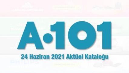 A101 24 Haziran aktüel kataloğu! Oturma grubu, derin dondurucu, elektronik, mobilya ürünleri...