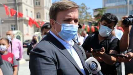 Aksaray valisi Aydoğdu müjdeyi verdi: Vakalar sıfıra yaklaştı, hastaneler boşaldı