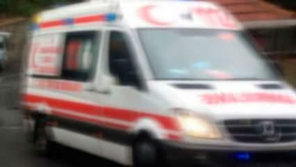 Anadolu Otoyolu'nda tır devrildi: 1 yaralı