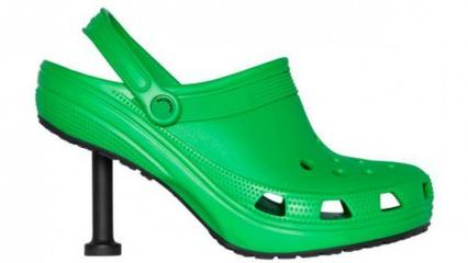 Balenciaga ve Crocs birleşti ortaya stiletto çıktı!