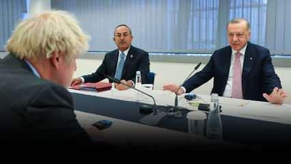 Başkan Erdoğan, NATO zirvesinde! İşte dikkat çeken anlar...