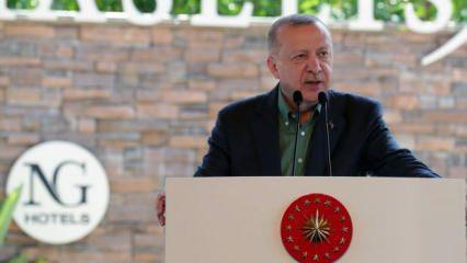 Başkan Erdoğan'dan KDV desteği müjdesi