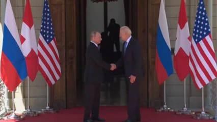 Cenevre'deki kritik Biden-Putin görüşmesi sona erdi