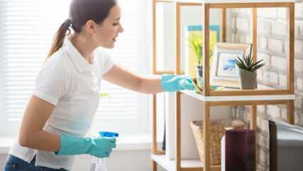 Cuma günü temizlik yapılır mı? Cuma günü ev temizliği nasıl yapılır? En kolay cuma temizliği