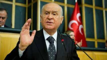 Devlet Bahçeli: İstikamet çizen bir Türkiye var!