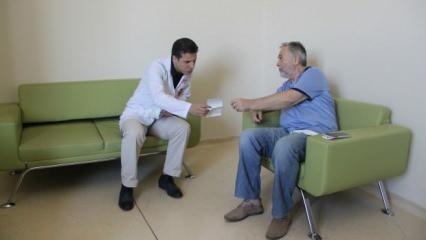 Doğuştan gelen hastalığının şifasını Diyarbakır'da buldu!