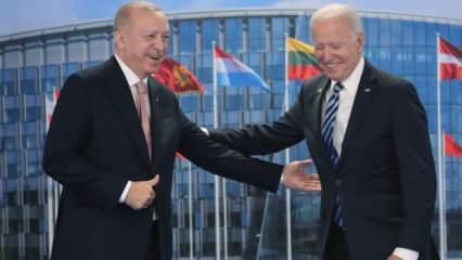 Erdoğan ile görüşmesi sonrası Biden'dan son dakika açıklaması