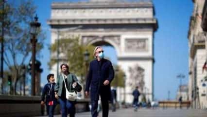 Fransa'da son 24 saatte 487 Kovid-19 vakası tespit edildi