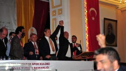 Galatasaray Spor Kulübü'nün 38'inci başkanı Burak Elmas oldu!