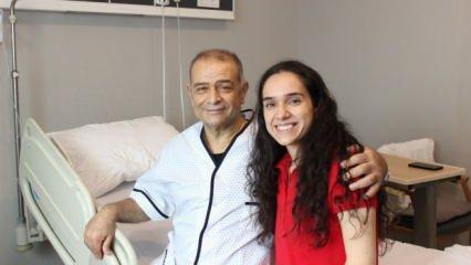 İzmir'de kızından babasına en güzel hediye: Karaciğer nakli!