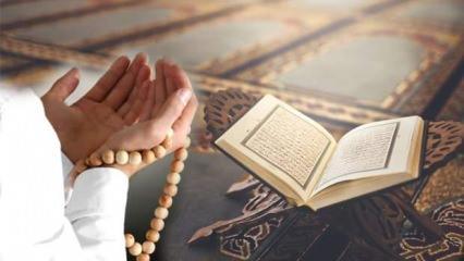 Kenzül Arş Duası nedir, nasıl yapılır? Uzun Kenzül Arş duası Arapça okunuşu...