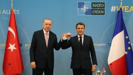Macron, Başkan Erdoğan'la aldıkları kararı açıkladı. Doğu Akdeniz'de yeni dönem