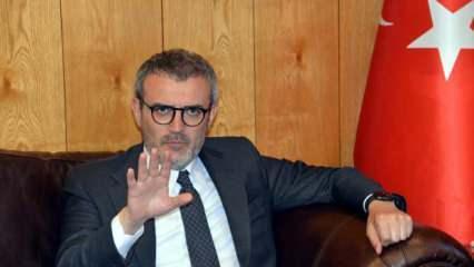 Mahir Ünal: Türkiye kırmızı çizgilerini esnetmeyecek
