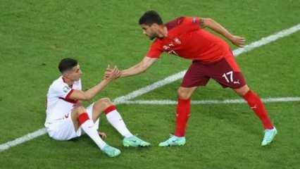 Mert Müldür, İsviçre maçının ardından yıkıldı!