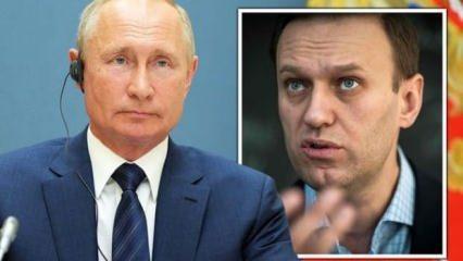 Putin: Navalny'nin öldürülmesi için talimat vermedim
