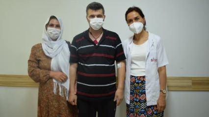 Şanlıurfa'da koronavirüs hastası 35 günlük yaşam mücadelesini kazandı!