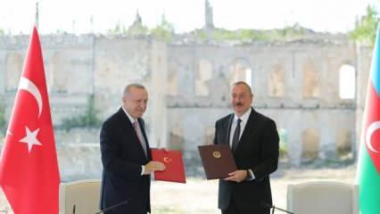 Son dakika: Erdoğan ve Aliyev'den tarihi imza ve açıklama! Ermenistan'la normalleşme...