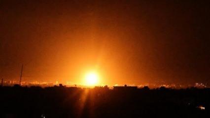 Terör devleti İsrail Gazze'yi vurdu!
