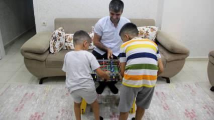 Yetiştirme yurdunda büyüdü, 2 çocuğa koruyucu aile oldu