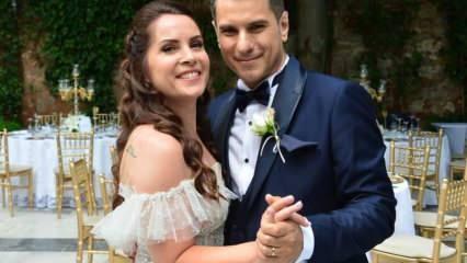 Sürpriz nikah! Oyuncu Sevinç Erbulak ve Volkan Cengen dünyaevine girdi