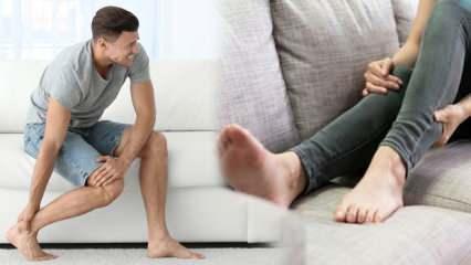 Bacaklardaki ağrı ve şişliğe dikkat! Toplardamar yetmezliği belirtisi olabilir