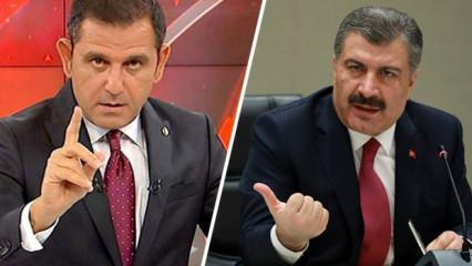 Bakan Koca'dan Fatih Portakal ve Canan Kaftancıoğlu'nun yüzünü kızartacak açıklama