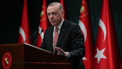 Cumhurbaşkanı Erdoğan'dan önemli 'yatırım' açıklaması
