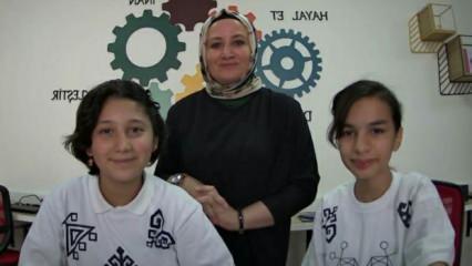 Emine Ahmet Yeni Kız AİHL'ye bölge ikinciliği
