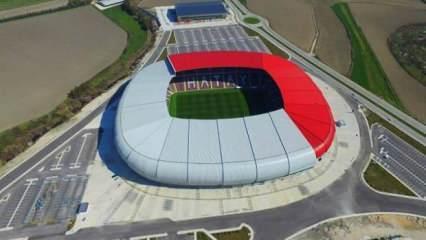 Hatay Stadı, Cumhurbaşkanı Erdoğan'ın katılımıyla yarın açılıyor