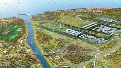 Kanal İstanbul'da büyük gün! İlk kazma vuruluyor
