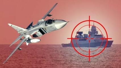 Rus savaş uçakları İngiliz donanmasına ateş açtı! Rusya, Türkiye ve İngiltere'den açıklama