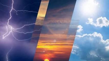 Kurban Bayramı'nda 4 günlük hava durumu