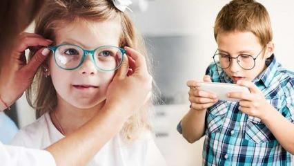 Pandemide çocuklarda miyop gelişimi arttı!