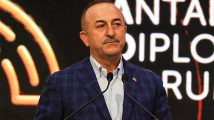 Çavuşoğlu ifşa etti! Güney Kıbrıs'tan 'Antalya'ya gitmeyin' diplomasisi