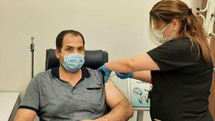 Yerli Covid-19 aşısı TURKOVAC'ın yan etkisi var mı? Aşı gönüllüsü konuştu