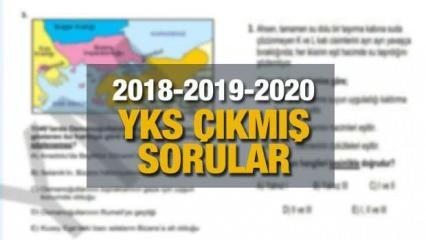 YKS çıkmış sorular! ÖSYM 2018-2019-2020 yılında YKS (üniversite sınavında) hangi sorular soruldu?