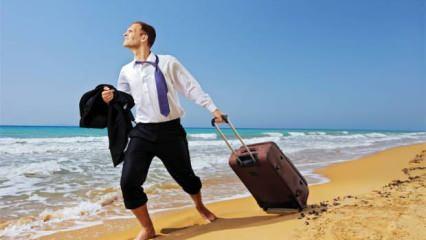 Rüyada tatile gittiğini görmek neye işaret eder? Rüyada tatil için hazırlanmak...